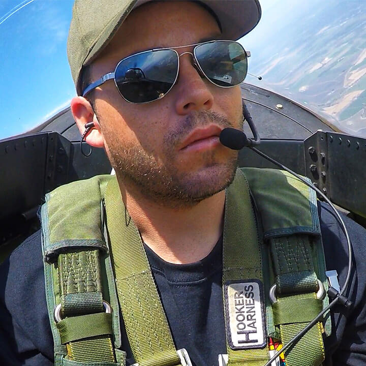 Book a Certified Flying Instructor for Upset Avoidance & Recovery Training, Aerobatic Flight Training, Formation Training, & Air Combat Maneuvering Training